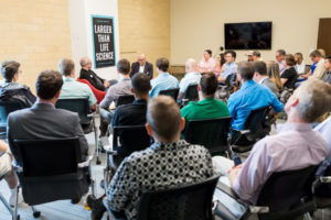 WRAL TechWire Startup Guide Larger than Life Science Event